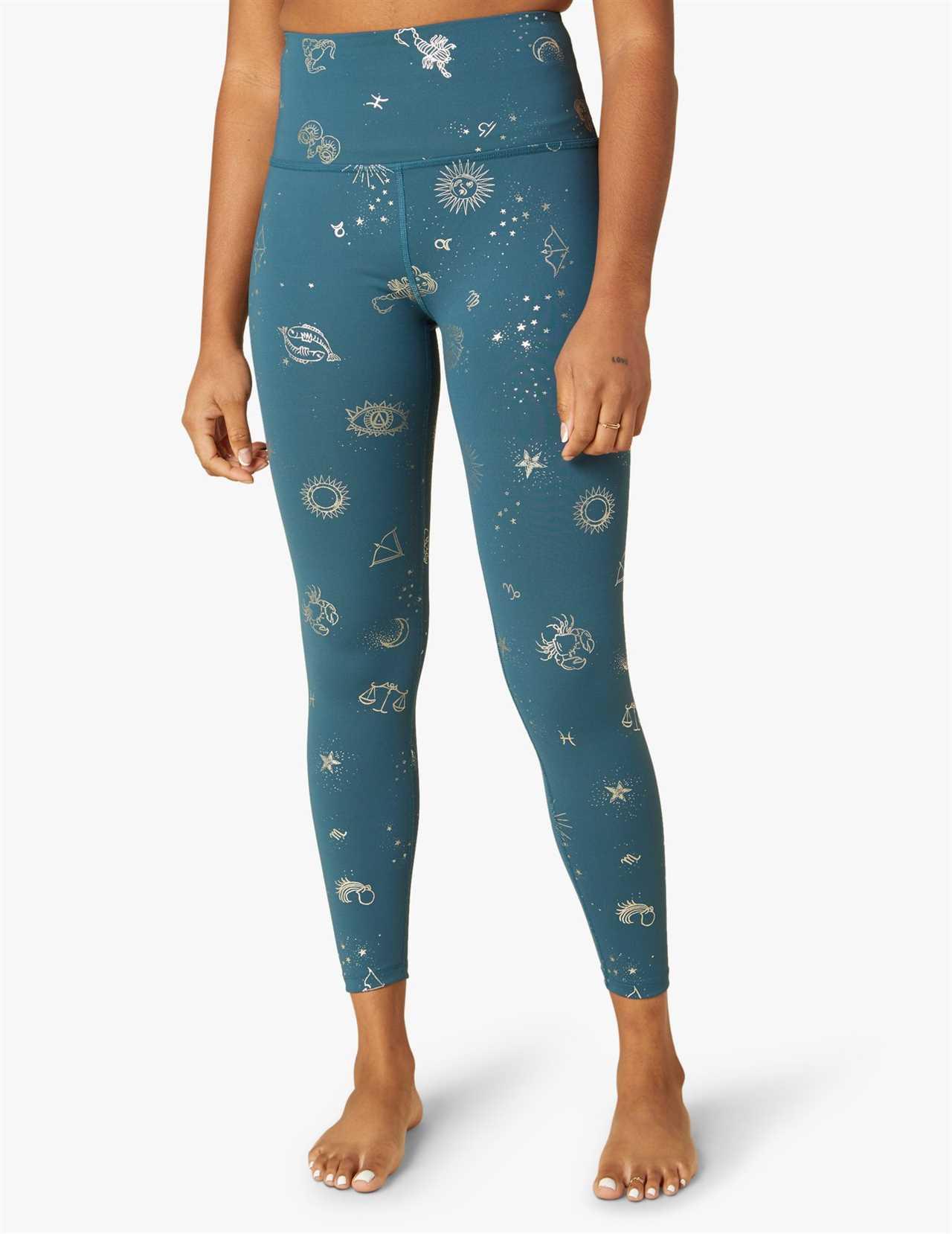 STYLECASTER   Jennifer Lopez's Printed Leggings