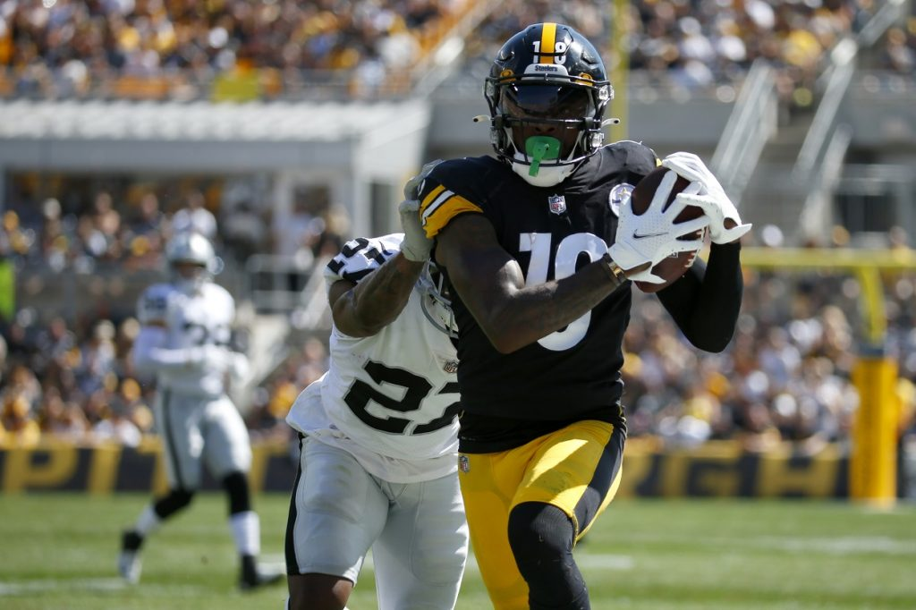 Dionte Johnson, Wide Receiver for the Pittsburgh Steelers