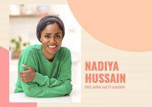 Chef and author Nadiya Hussain