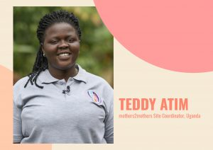 Teddy Atim mothers2mothers Site Coordinator in Uganda
