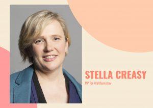 MP for Walthamstow Stella Creasy