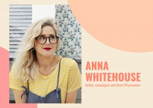 Flexible working campaigner Anna Whitehouse