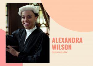 Young barrister Alexandra Wilson