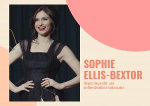 Singer and songwriter Sophie Ellis-Bextor